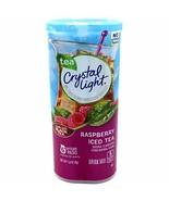 Crystal Light Raspberry Iced Tea Drink Mix, 12-Quart 1.6-Ounce Canister ... - $11.88