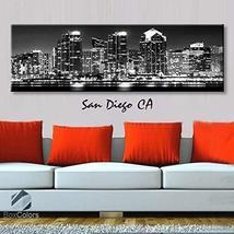 Original by BoxColors Single panel 3 Size Options Art Canvas Print San D... - $59.00