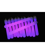 4 inch Premium Purple Glow Sticks with Lanyards- 25 Count  - $11.95