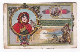 VINTAGE IRELAND ILLUSTRATED POSTCARD MAILED FROM BELFAST TO NEW YORK 1907 - $4.98