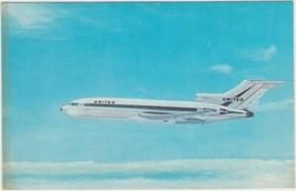 United Air Lines Boeing 727 Postcard Aviation Airplane - $2.99