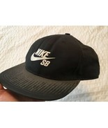 NIKE SB Logo Black  Strapback Digital Hat Cap Adj. - $18.97