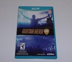 Guitar Hero Live Wii U Video Game - $5.36