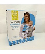 LILLE BABY AIRFLOW Complete Baby Carrier Breathable Black Mesh Newborn -... - $75.00