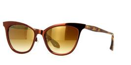 Nuevo Dita Von Teese Mujer Gafas de Sol Dorado Lyiy-C DVT 301 C BRN 54MM... - $158.38