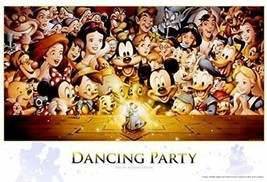 300 Piece Jigsaw Puzzle Disney Dancing Party (30.5x43cm) - $46.76