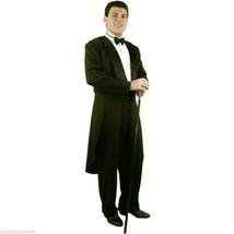 FORMALITIES TUXEDO BLACK ADULT HALLOWEEN COSTUME MEDIUM 40-42 - $41.61