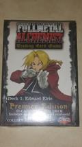 Fullmetal (Full Metal)  Alchemist TCG/CCG Starter Deck Edward Elric  *se... - $14.03