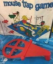 Original Mouse Trap Game Base C Part 21 Red Ideal 1963 Clean No Damage - $5.93