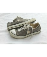 Converse SIZE 8 USED One Star Shoes Gray And White SNEAKERS - $24.75
