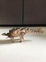 """Vintage 1989 Tyco Dino Riders Kentrosaurus Dinosaur Series 2 Action Figure 12"""" - $19.75"""