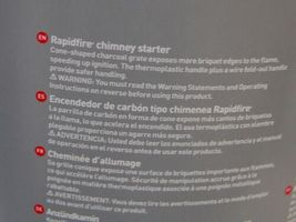 Weber 7416 Rapidfire Chimney Starter Aluminized Steel 12 Inches Tall image 6
