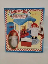 Vintage 1997 Hasbro Kenner Raggedy Ann Bedroom Set Complete. Brand new - $49.99