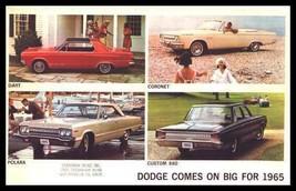 1965 Dodge Brochure, Polara, Dart, Coronet - Xlnt - $9.02