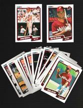 1990 Fleer Philadelphia Phillies Team set Daulton Dykstra + More MINT! - $0.99