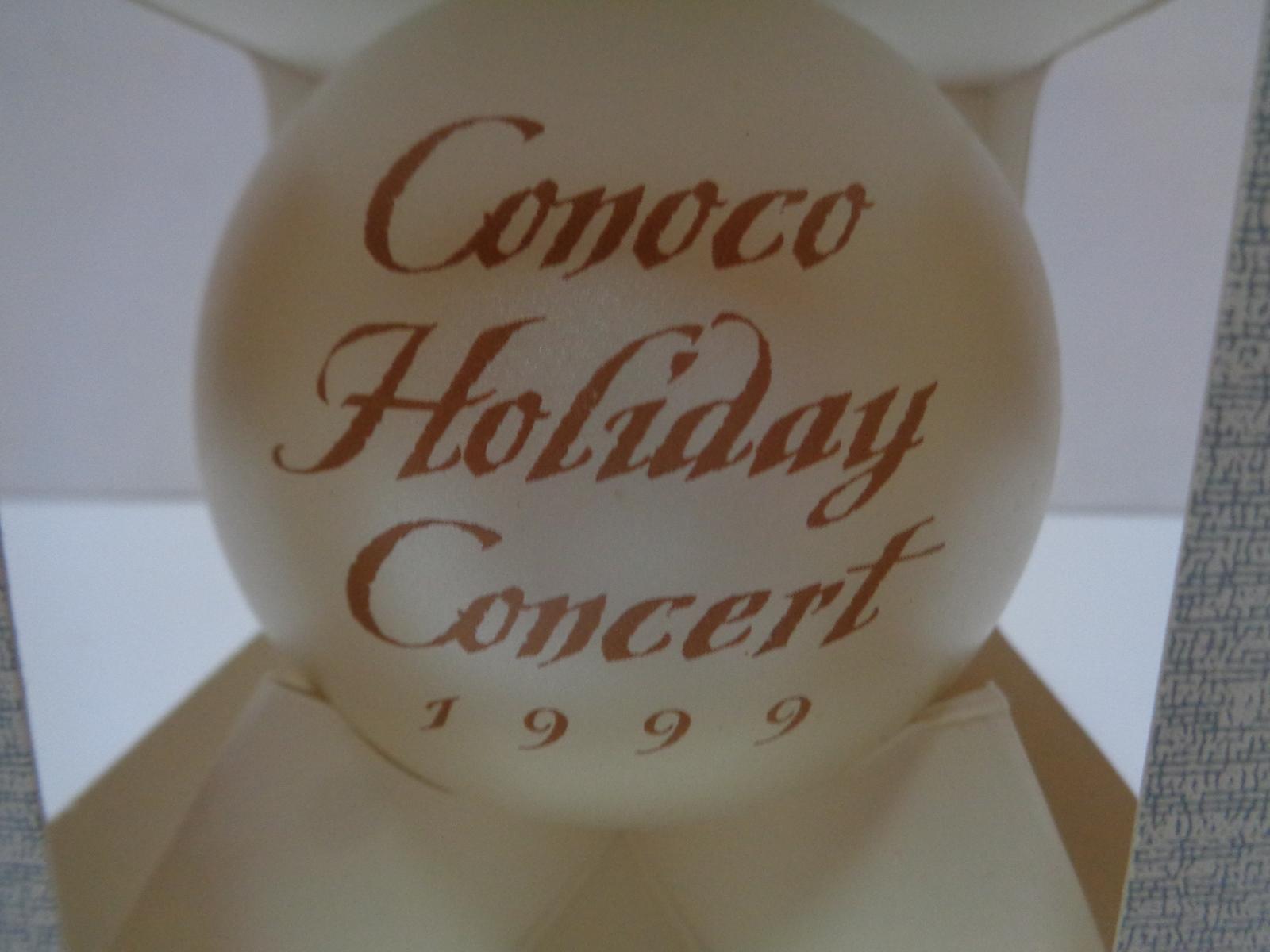 Conoco Concert Series 1999 Classic Ornament NIB Made USA