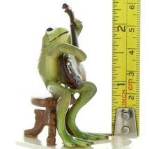 Hagen Renaker Miniature Frog Froggy Mountain Breakdown Banjo Ceramic Figurine image 7