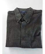 Croft & Barrow Men's Woven Cotton Button Down Shirt L New - $18.80