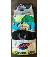 Hanna-Barbera 5 Pack Crew Socks Shoe Sz8-12 Age14+ Adult Unisex Fred Bar... - $24.83