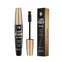 Absolute Lash Pump Volume Mascara Bristle Brush Bold Smudge Proof Black ... - $4.94