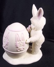 "Dept 56 Snowbunnies figurine I'll Color the Easter Egg 5"" tall Easter Sp... - $16.79"