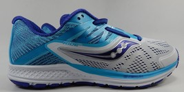 Saucony Ride 10 Running Shoes Women's Sz US 10 M (B) EU 42 White Purple S10373-3