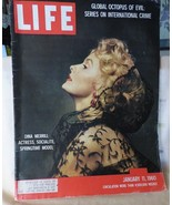 January 11 1960 LIFE MAGAZINE Dina Merrill Bobby Darin Richard Nixon Fas... - $15.00