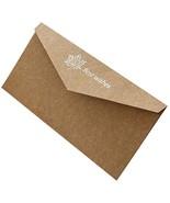 20pcs Retro Style Invitation Envelopes Bronzing Printing Wedding Cards, ... - $17.12