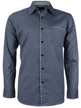 LW Men's Western Button Up Long Sleeve Designer Dress Shirt image 9
