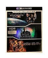 Ender's Game/The Last Witch Hunter/Gods of Egypt [4K Ultra HD] - $37.95