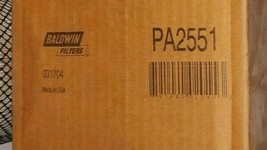 Baldwin PA-2551 Air Filter with Lift Tab New Old Stock from Shop Free Shipping - $54.66