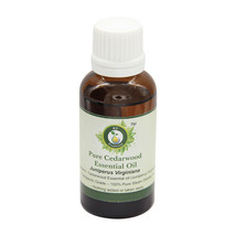 R V Essential ​Pure Cedarwood Essential Oil 1.01oz Juniperus Virginiana ... - $10.47