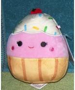 "Squishmallows CLARA the CUPCAKE 5""H New - $10.88"
