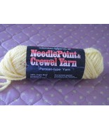 Columbia Minerva 1 skeins 1/2  oz yarn light med yellow color (1  availa... - $0.98