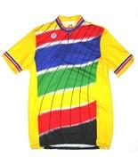Vintage Au Tour De France Cycling Jersey Size 6  21 inch Chest 53 cm - $49.38