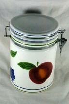 Certified International Fruit Locking Lid Coffee Canister - $9.69