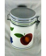 Certified International Fruit Locking Lid Coffee Canister - $8.81