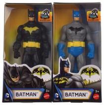 "Mattel DC Comics Kids Batman Black Gray 6"" Action Figurine Superhero Min... - $16.99"