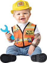 Demo Construction Crew , Toddler Costume , 18 to 24 Months , Free Shipping - $32.00