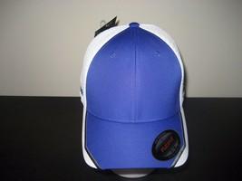 Adidas Taylormade Golf Flex Fit Tour Mesh Crest Hat Purple White Small M... - $18.97