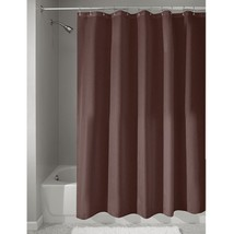 InterDesign Fabric Shower Curtain, Modern Mildew-Resistant Bath Liner fo... - $32.86
