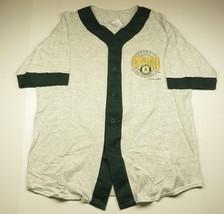 1993 Oakland Athletics Grey MLB Baseball Men's Jersey Shirt Sz Large 100... - $26.10