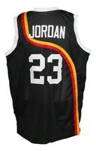 Michael Jordan Roswell Rayguns Basketball Jersey New Sewn Black Any Size image 5