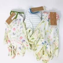 Gloves Garden Gardener Gardening Yard Nitrile Knit Wrist - Set of 3 -Str... - £7.22 GBP