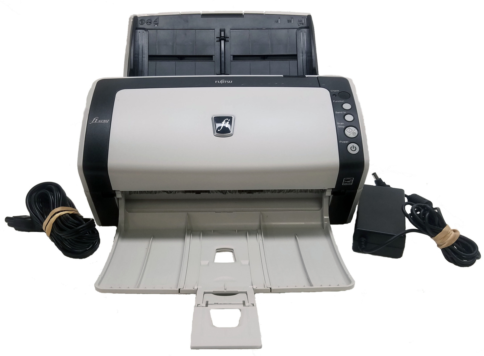 Fujitsu fi-6130Z Color Duplex Scanner With A/C Adapter Bin:1
