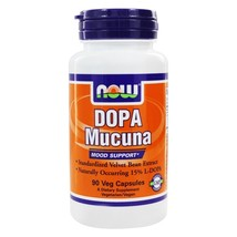NOW Foods DOPA Mucuna, 90 Capsules - $15.29
