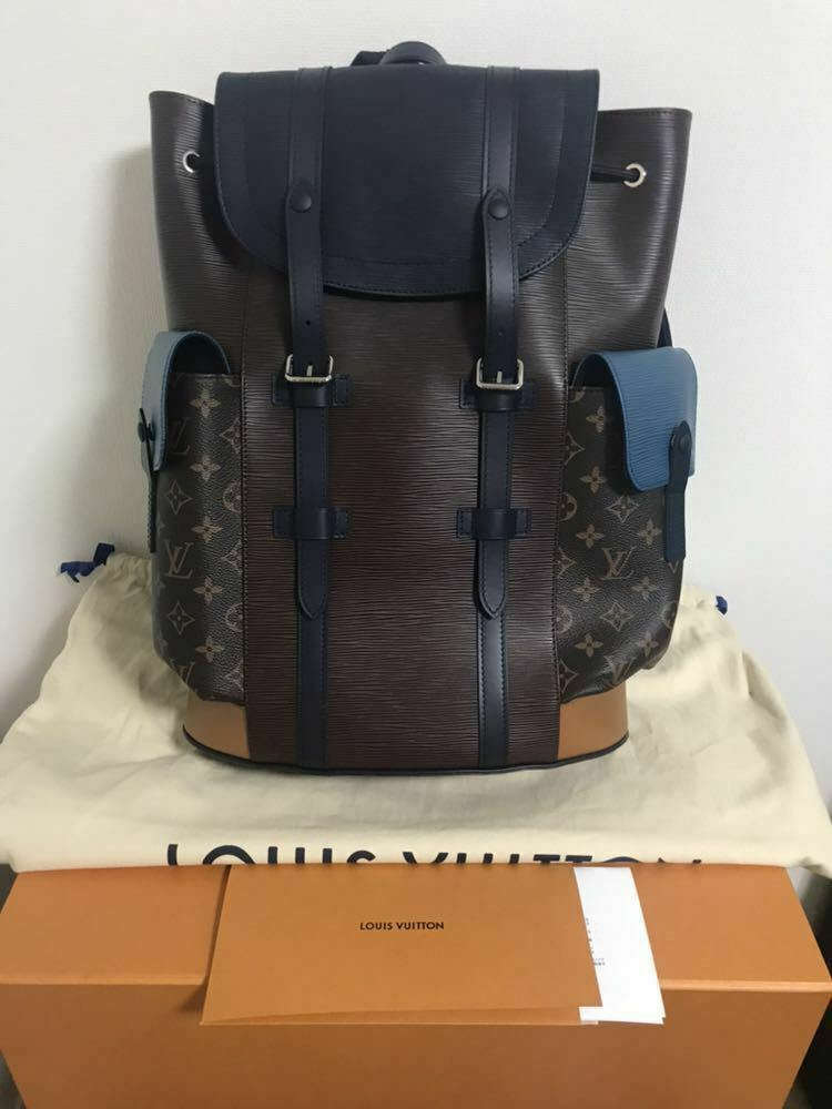 256af4ad10a LOUIS VUITTON Christopher PM Backpack Bag and 50 similar items