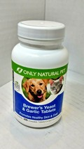 Only Natural Pet - Brewer's Yeast & Garlic - 300 chewable tab SEALED exp... - $15.39