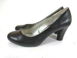 Andrew Geller Feronica Pumps Heels Slip On Black Women's Shoes Size US 9M - $12.73