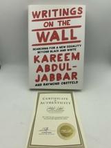 Writings On The Pared Kareem Abdul-Jabbar Libro Firmado Estreno Collecti... - £37.29 GBP